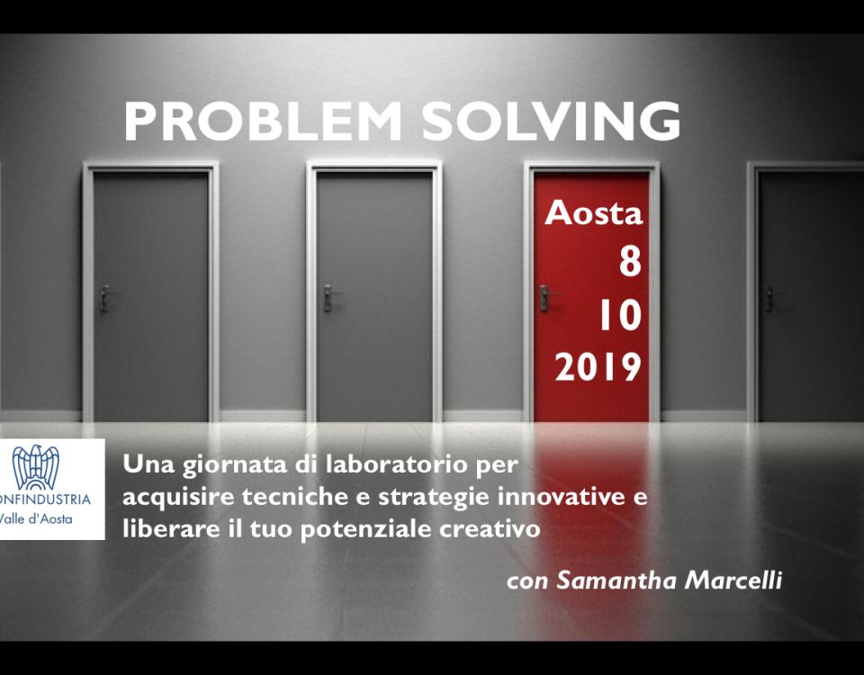 Problem Solving Confindustria 8 ottobre 2019
