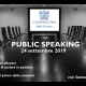public speaking Confindustria