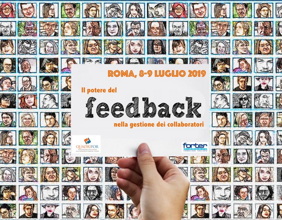 Rivoluziona la tua vita con il feedback