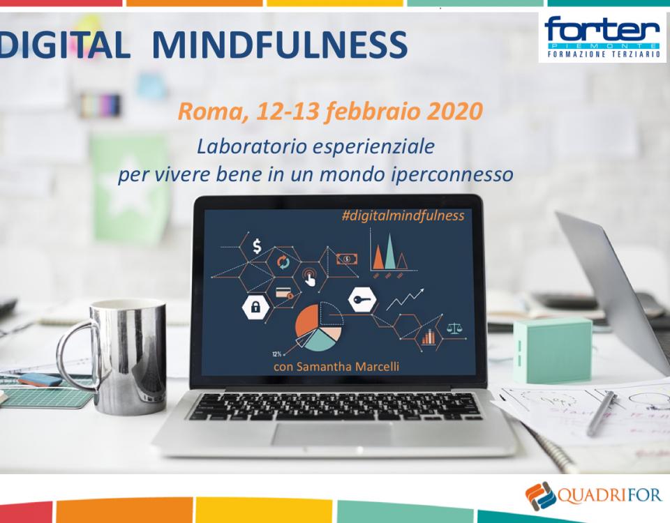 Digital Mindfulness 12 13 febbraio 2020 ROMA