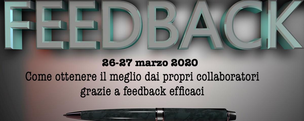 il potere del feedback nella gestione dei collaboratori